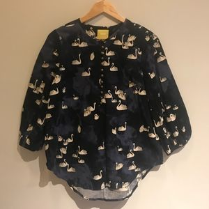 {Anthropologie} Maeve Womens Blouse Size M